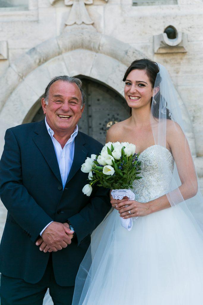 Fábry Sándor esküvőn a Mátyás templomban - Birta Fotó